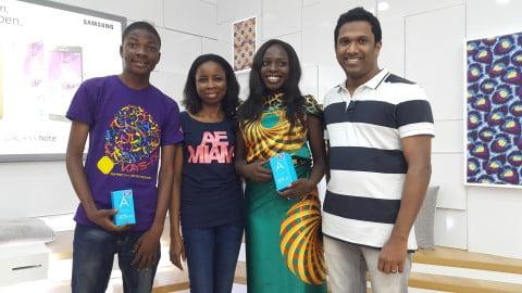 Tomiwa Talabi,  Jumoke Okikiolu, Lola Ichetaonye and Anish Mathew
