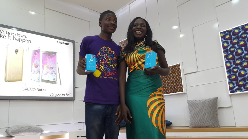 Tomiwa and Adeola- The Winners!