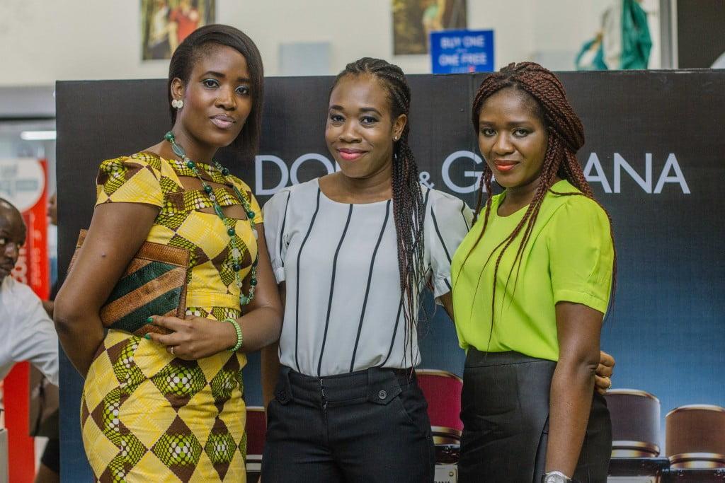 Tayo Afolabi, Tosin Igbenoba and Tewa Onasanya