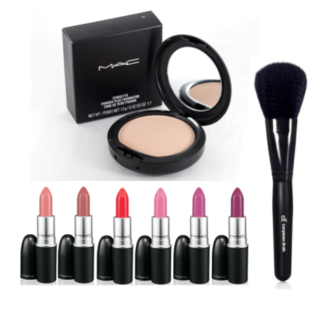 Content of Makeup bag