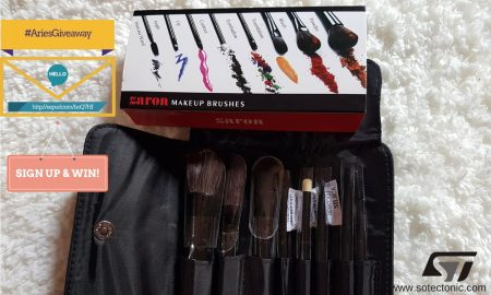 Zaron brush set