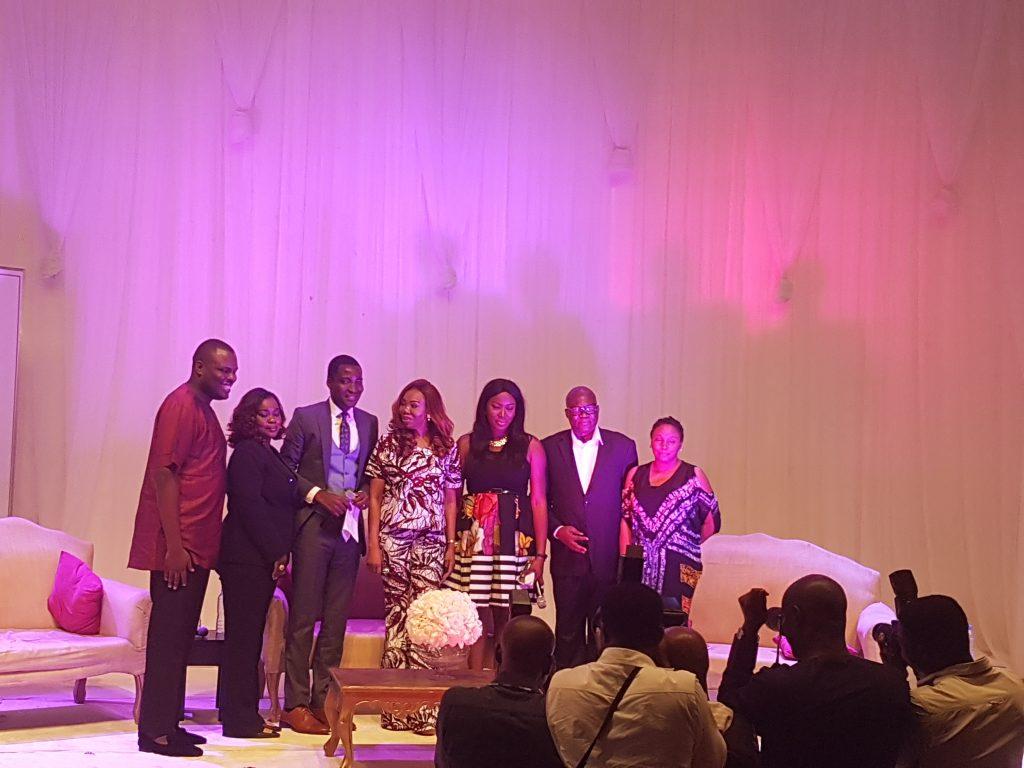 Chde Jidenowo, Funke Egbemodo, Tolu, Betty Irabor, Yemi, Reben Abati and Kadaria Ahmed