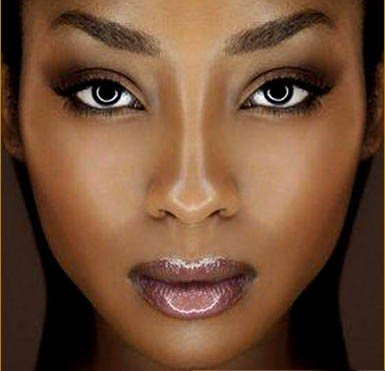 dewy makeup