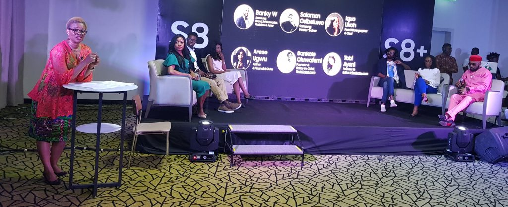 Adesuwa Onyenokwe, Arese Ugwu, Solomon, Miss Techy, Banky W, Iquo Ukoh and Tech Cabal