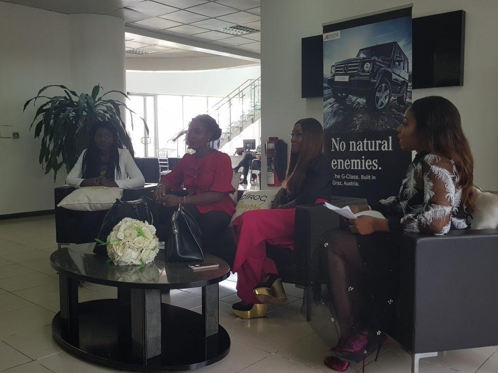 Tega, Tokunbo Chiedu, Drr. Vivian Oputa and Kaylah Oniwo