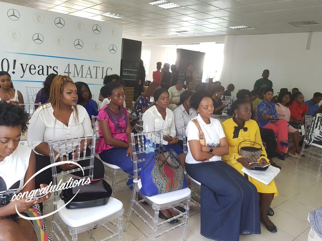 Mercdes-Benz World PR Beauty Business Week