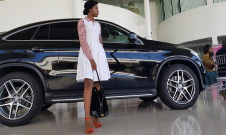 Oma Ehiri at Mercees-Benz Beauty Business Week