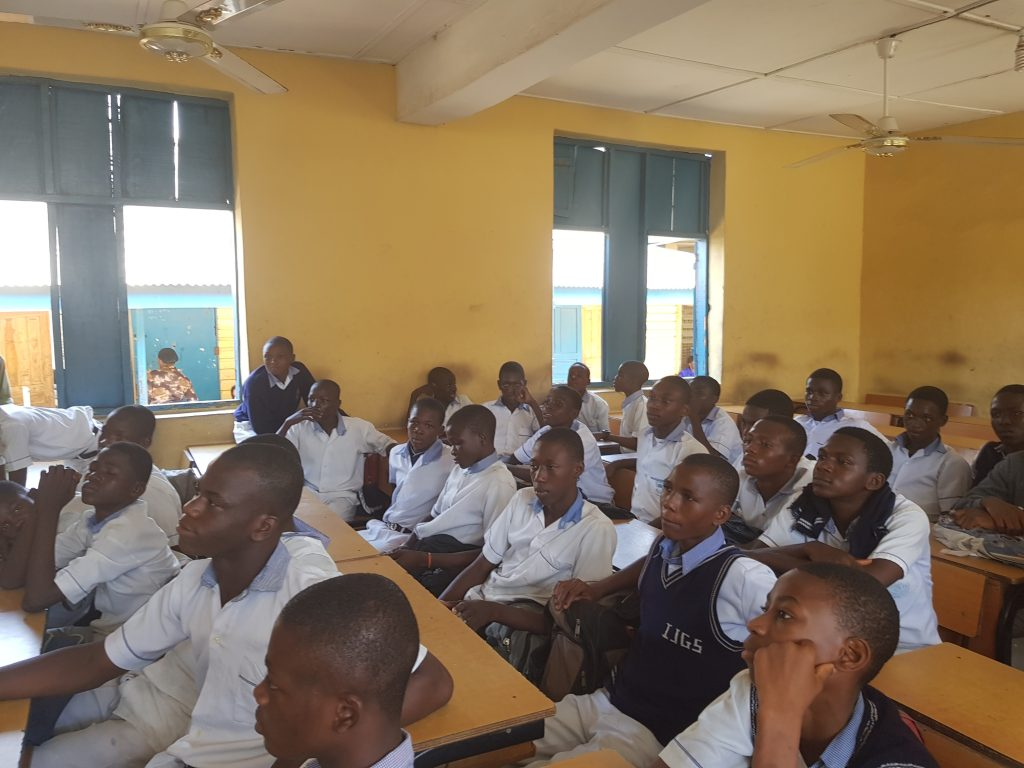 secondary school boys in Lagos