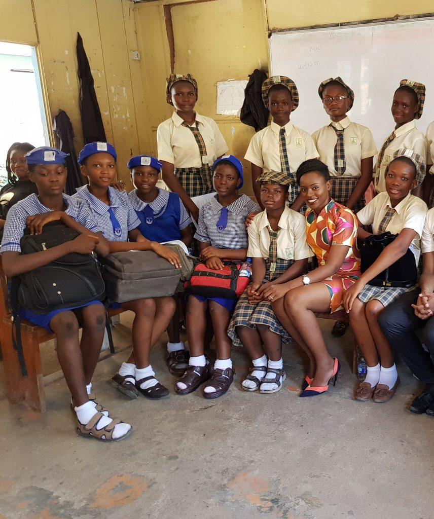 Secondary School Girls in Lagos