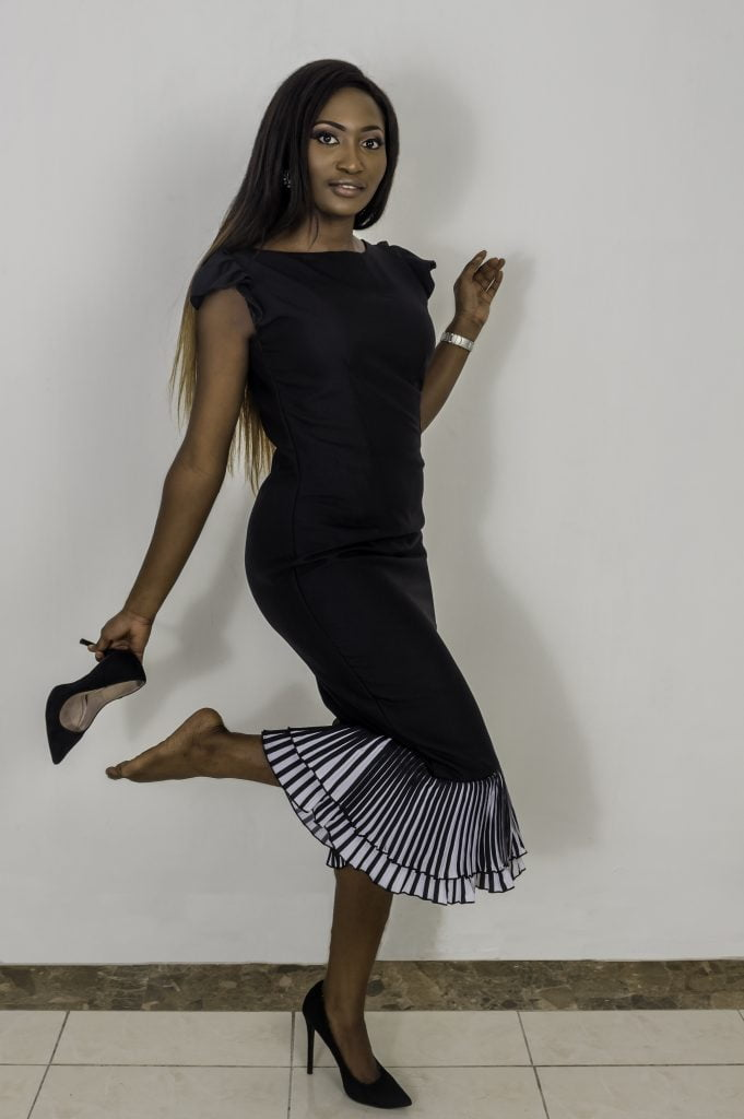 black dress by asoebi girl