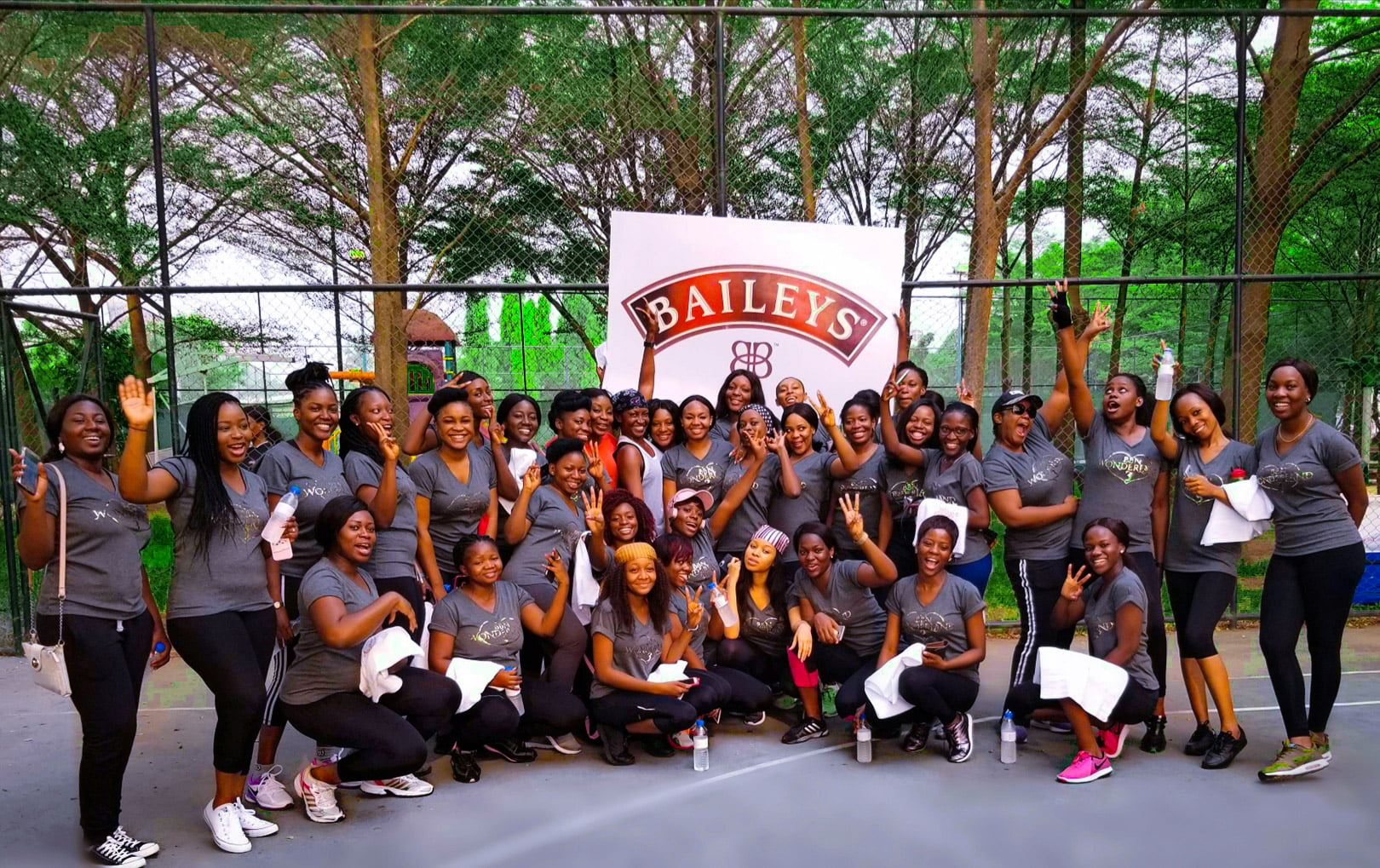 work out with Kate Henshaw