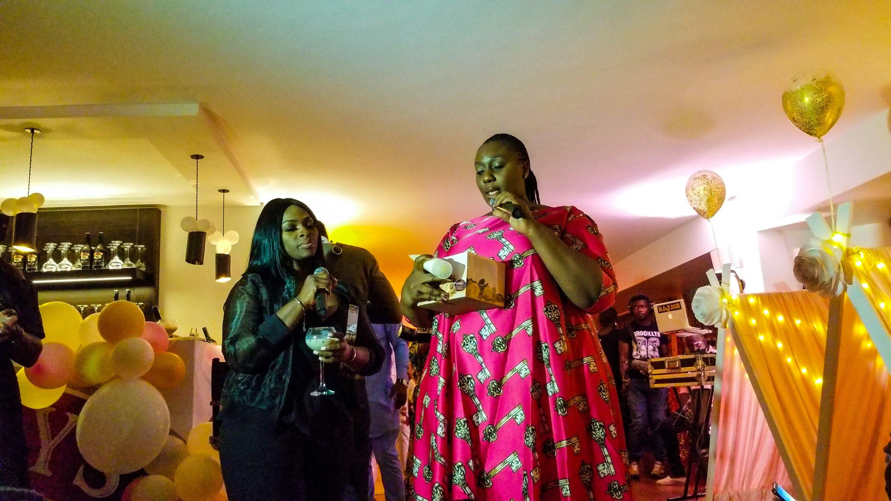 Tolani and Lilian o Paul of Black Opal Nigeria