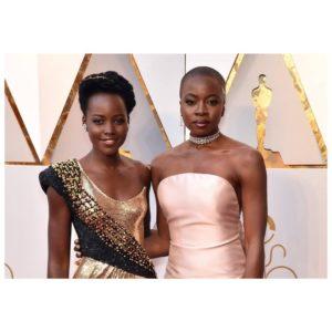 Lupita Nyongo and Danai Gurira